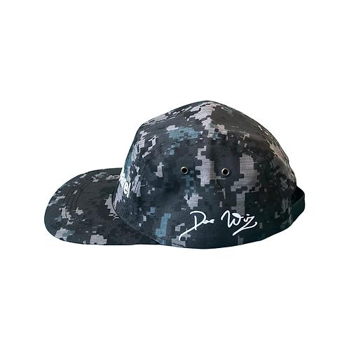 DWA GREY CAMO DAD HAT