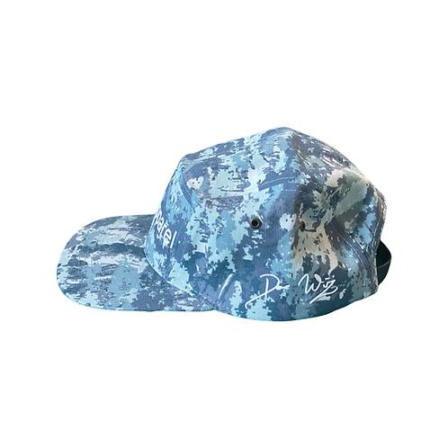 DWA BLUE CAMO DAD HAT
