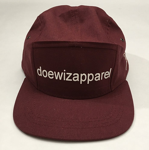 BURGUNDY DWA SNAP BACK HAT