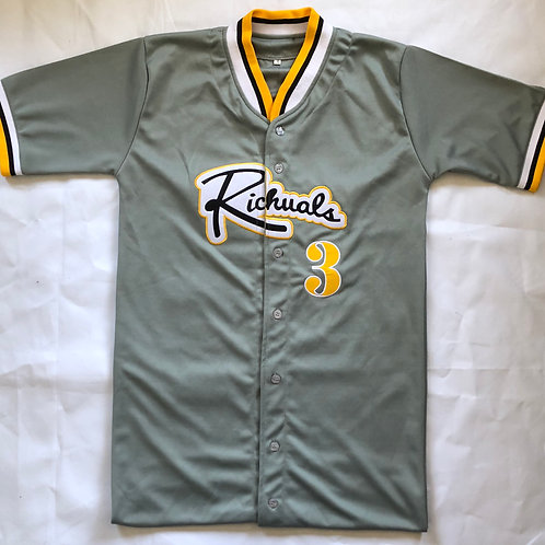 """Home Team"" Baseball Jersey (Customized Numbers)"
