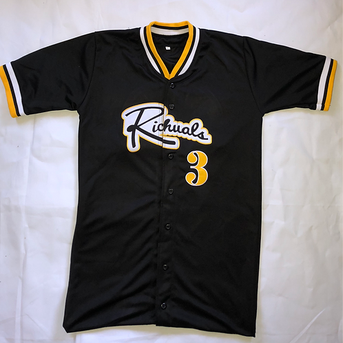 """""""Home Team"""" Baseball Jersey (Customized Number)"""