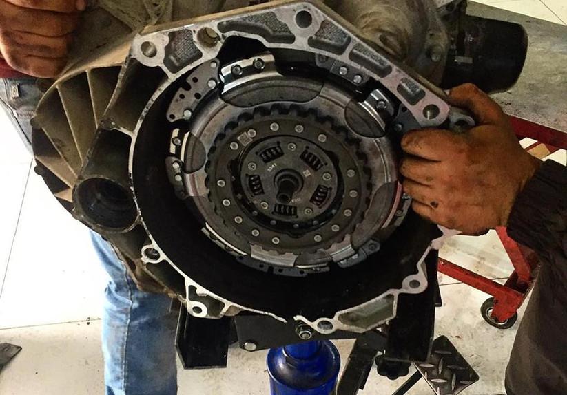ремонт сцепления коробки передач Volkswa