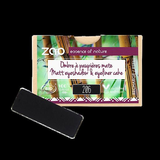 Ombre à paupières mate rectangle Bio 206