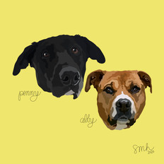 Portrait | Penny & Abby