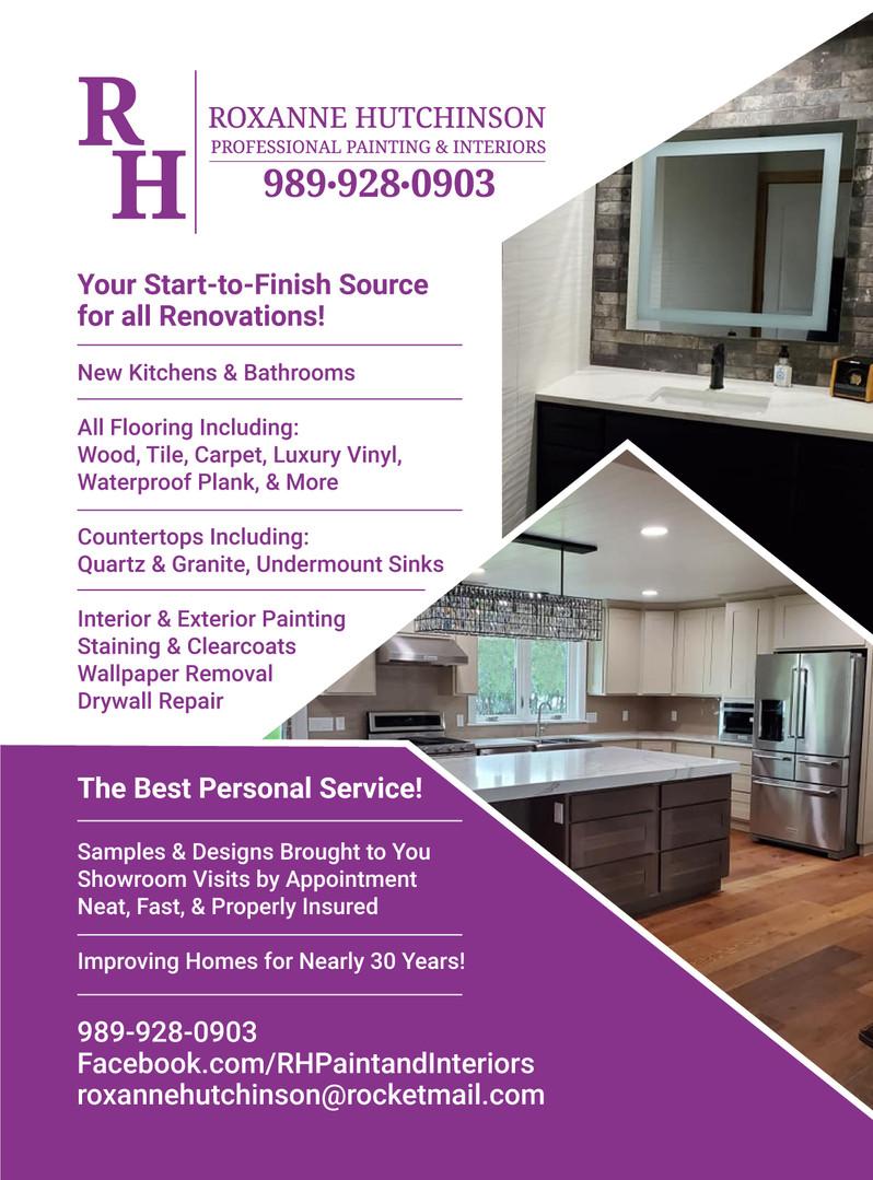 2020 RH Painting & Interiors Newspaper Ad