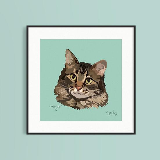 Pet Portrait (8x8)