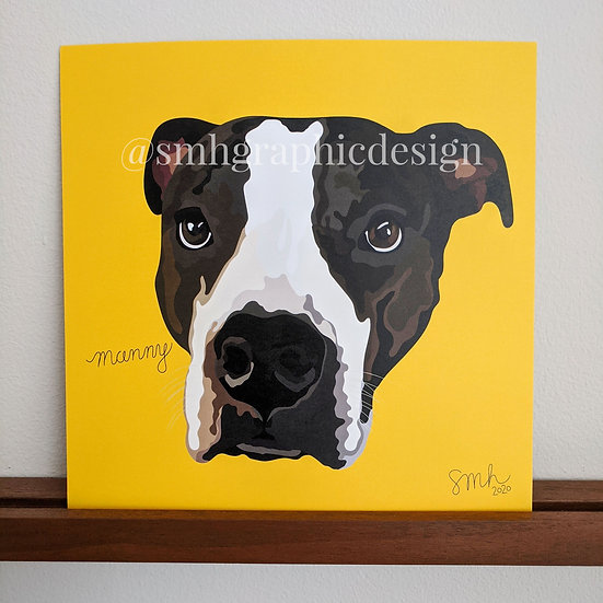 Pet Portrait (8x8)