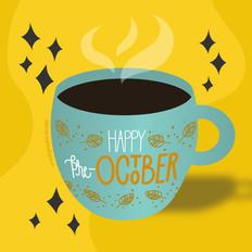 Lettering | Happy Pre-October