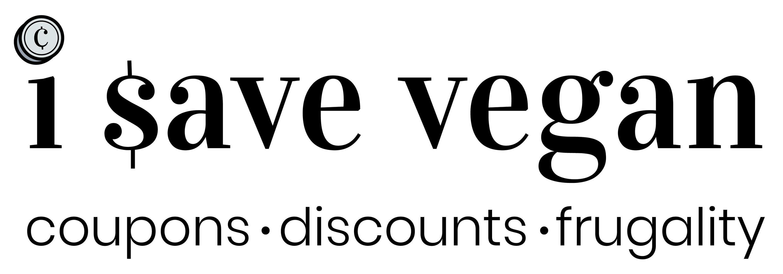 I Save Vegan Secondary Logo