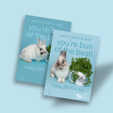Great Lakes Rabbit Sanctuary | Father's Day Cards