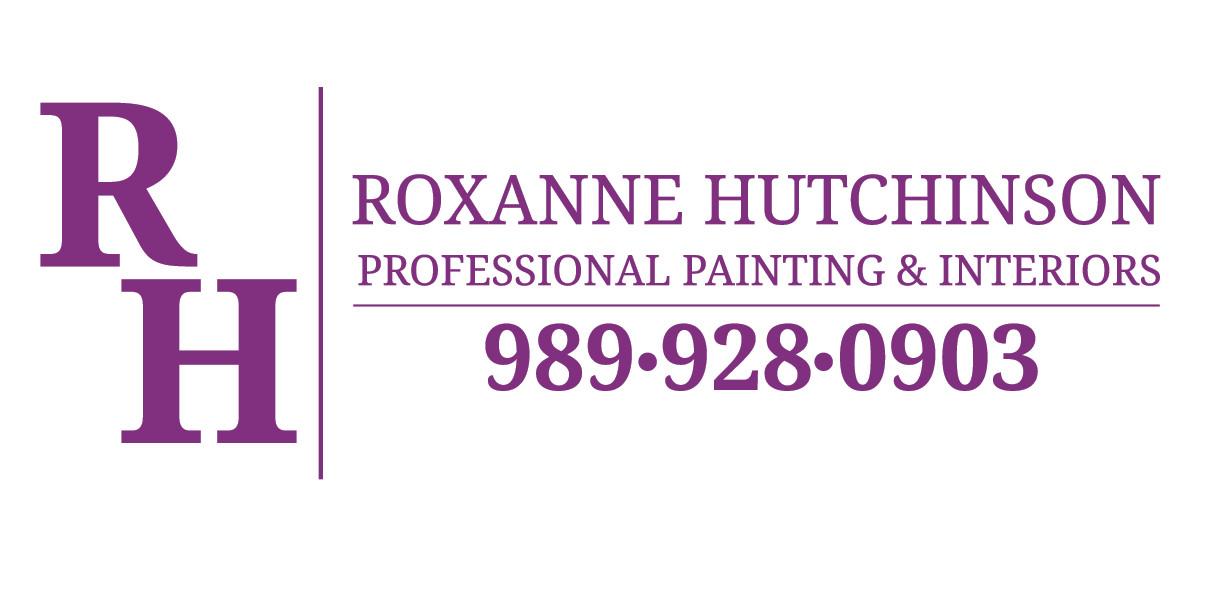 Roxanne Hutchinson Painting & Interiors Logo