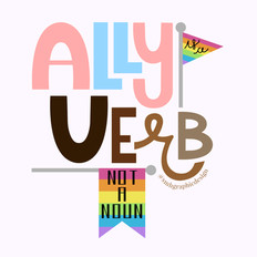 Lettering | Ally is a Verb