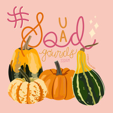 Lettering | #SquadGourds