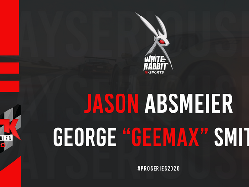 White Rabbit Gaming will be participating in Pro Series 2020