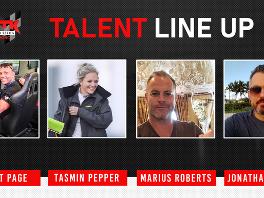 Talent line up for the Pro Series 2020