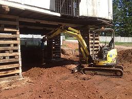 under hous excavations
