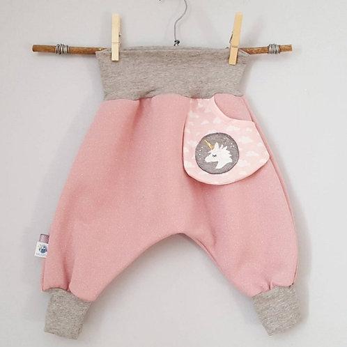Pantalon sarouel poche licorne
