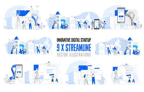 Innovative Digital Startup Bundle