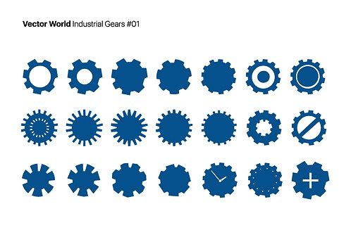Vector World Industrial Gears 01