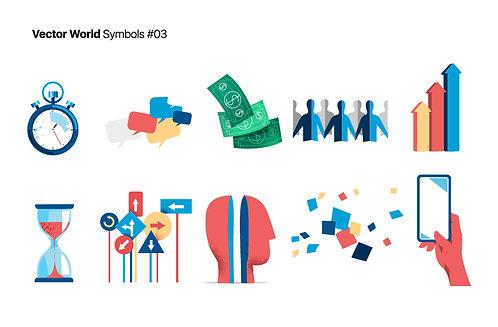 Vector World Symbols 03