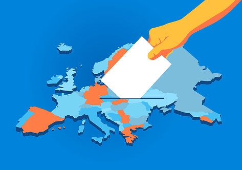 Europe Map Election Day