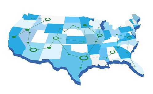 US Map Tour