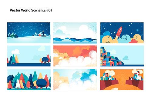 Vector World Scenarios 01