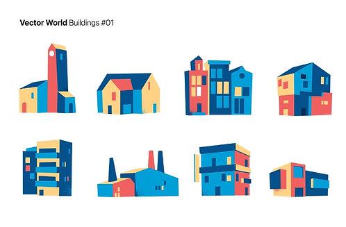 Vector World Buildings 01