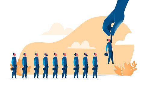 Salesman Candidates Line