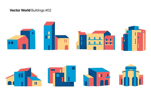 Vector World Buildings 02