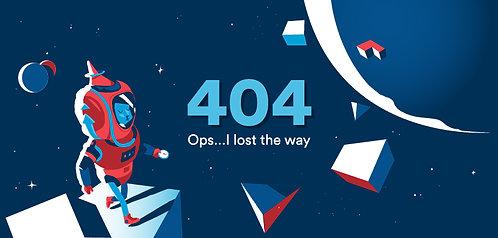 Space Explorer 404