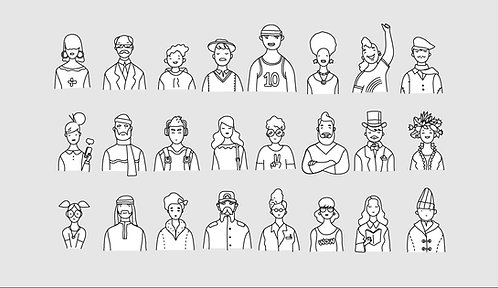 Wire Bunch Characters