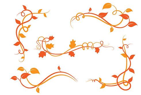 Flora Deco Orange