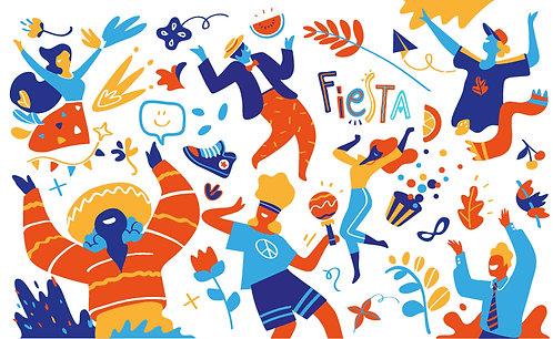 Fiesta Forever Banner