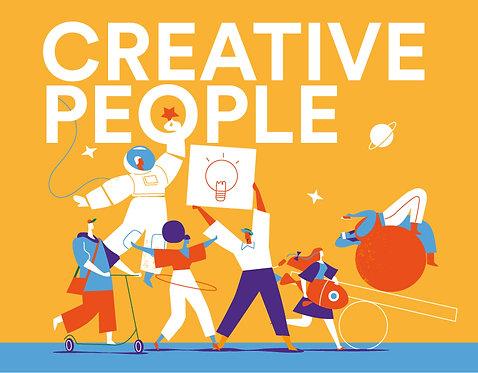 Creative People Headline