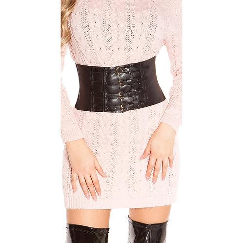 Cinturón corset con hebillas