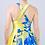 Thumbnail: Vestido asimétrico con flor azul