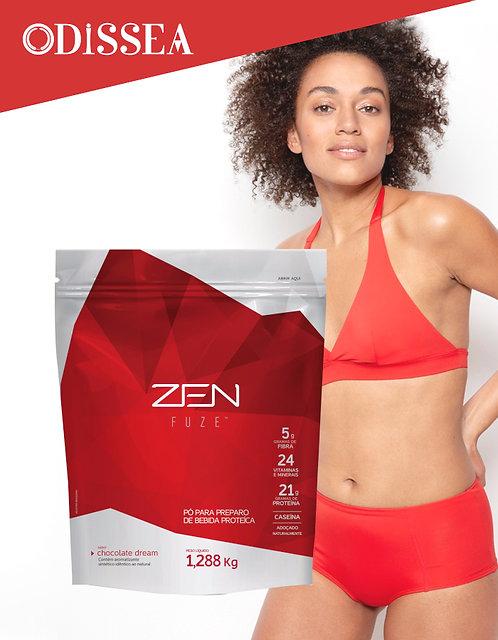 Batido de proteínas Zen fuse de chocolate