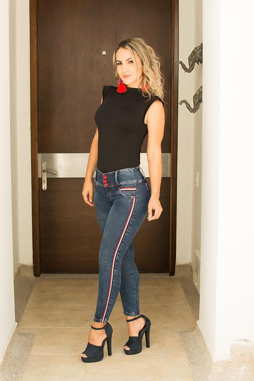 Jeans push up estilo tommy