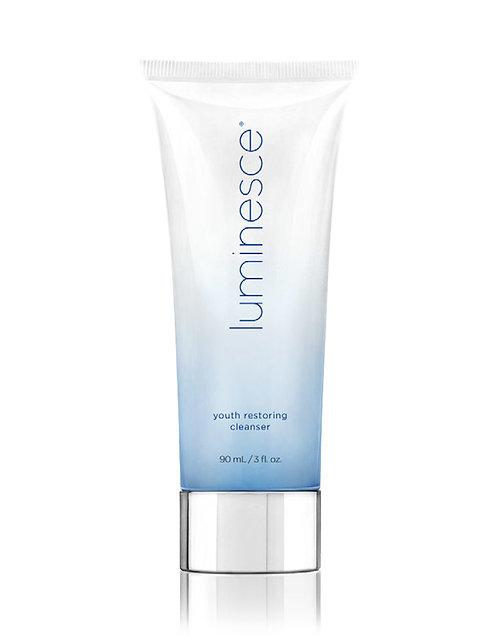 Limpiador y restaurador de la piel facial Luminesce