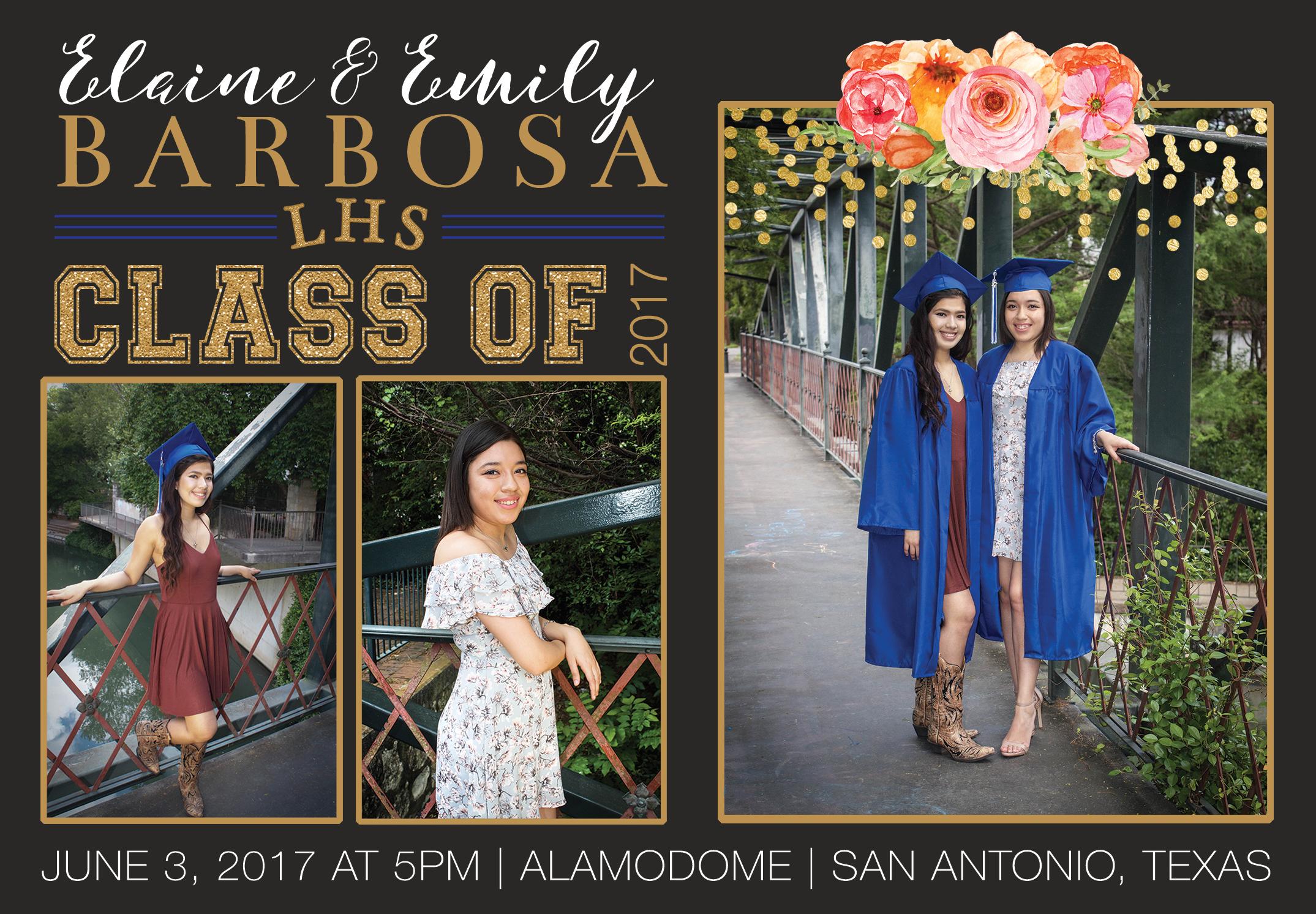 Graduation Announcement & Invitation