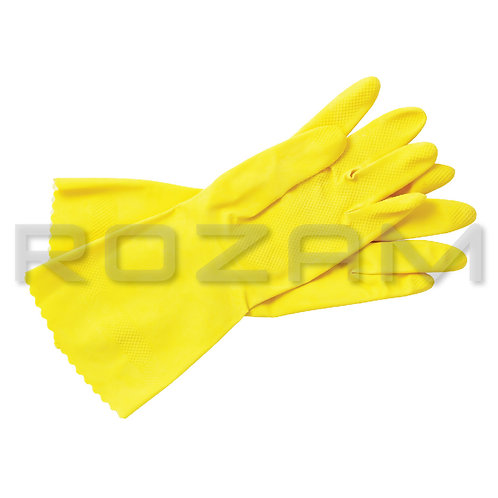 Guante Latex Multiusos Scotch Brite Amarillo Grande