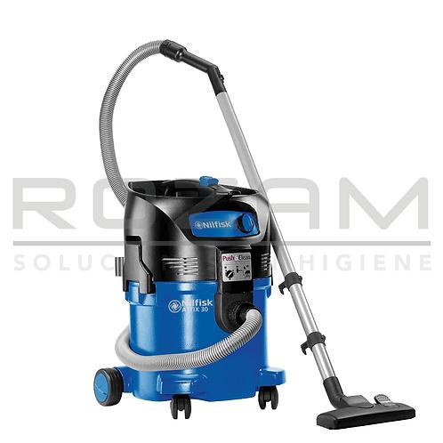 Attix 30 aspiradora monofásico agua y polvo