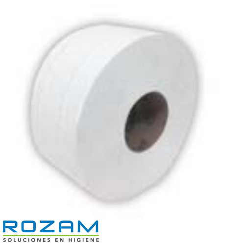 Higiénico Scott Jr 250 mts x 9.0 cm x 6, Blanco