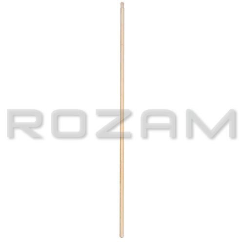 Bastón de madera 1.20 m. con rosca de madera