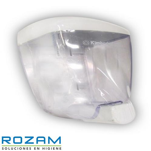 Despachador P/Jabon a Granel Transparente C/Blanco