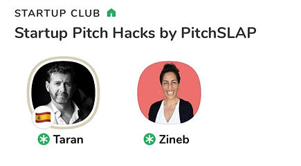 Pitch Hacks by PitchSLAP on Clubhouse