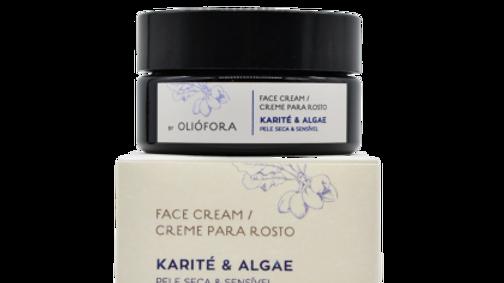 Face Cream - Shea Butter & Algae - 50 ml