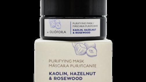 Purifying Mask - Kaolin, Hazelnut & Rosewood