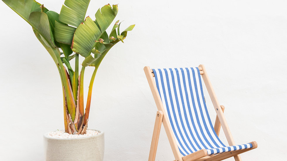 Child Deck Chair with Canvas